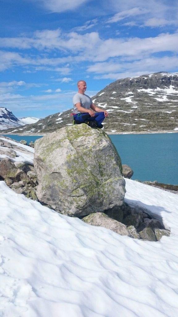 Guido Vetter - Yoga Mühlhausen - Meditation Schnee